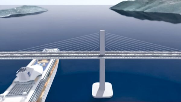 Projekat Pelješkog mosta - Sputnik Srbija