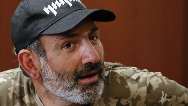 Никол Пашињан, лидер опозиције у Јерменији - Sputnik Србија