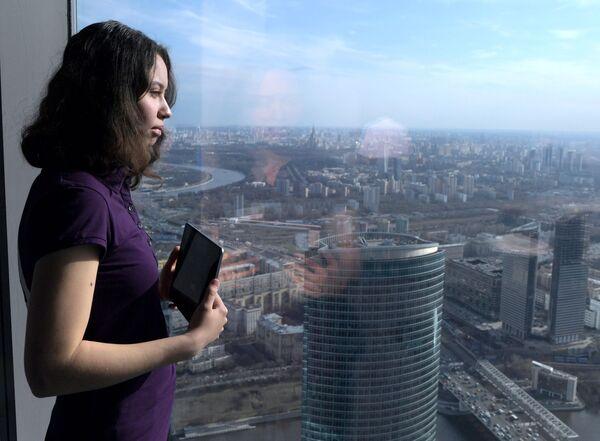 Novo u Rusiji, negde u visinama: Moskva na dlanu - Sputnik Srbija