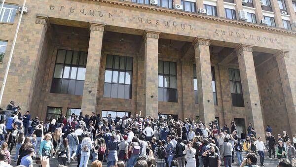 Protesti opozicije u Jerevanu - Sputnik Srbija