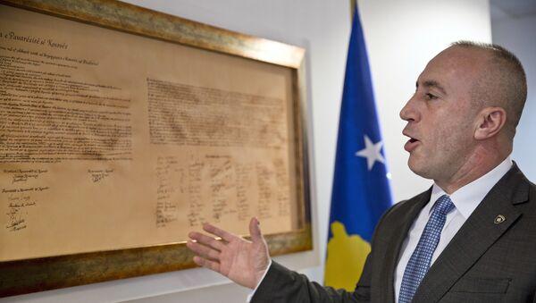 Премијер тзв. Косова Рамуш Харадинај - Sputnik Србија