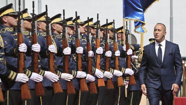 Premijer tzv. Kosova Ramuš Haradinaj - Sputnik Srbija