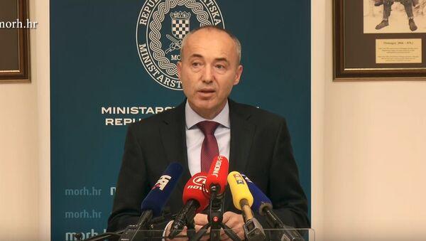 Ministar odbrane Hrvatske Damir Krstičević - Sputnik Srbija