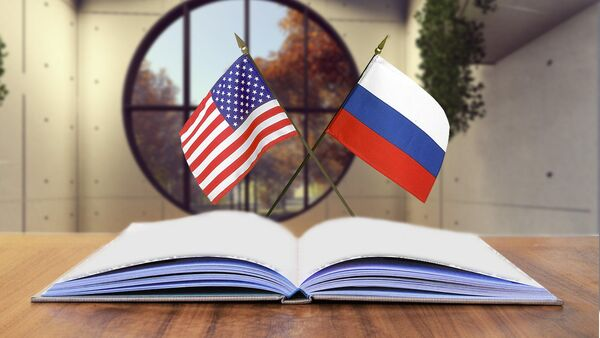 SAD Rusija zastavice - Sputnik Srbija