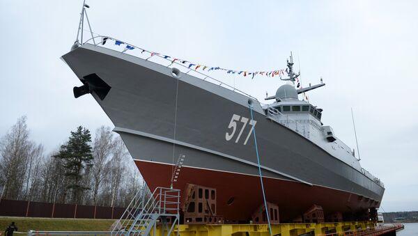 Ruski mali raketni brod Tajfun iz projekta 22800 - Sputnik Srbija