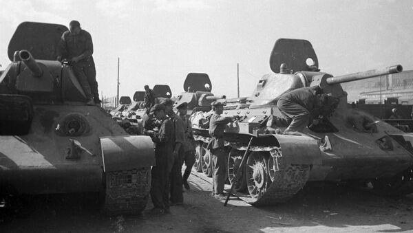 Sovjetski tenk T-34 - Sputnik Srbija