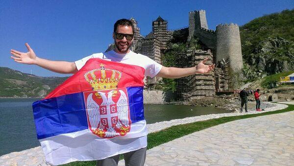 Tvrđava Golubački grad, jedno on najdražih mesta u Srbiji. - Sputnik Srbija