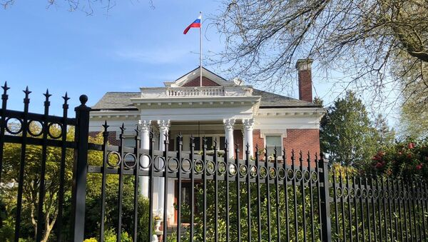 Rezidencija generalnog konzula Rusije u Sijetlu - Sputnik Srbija