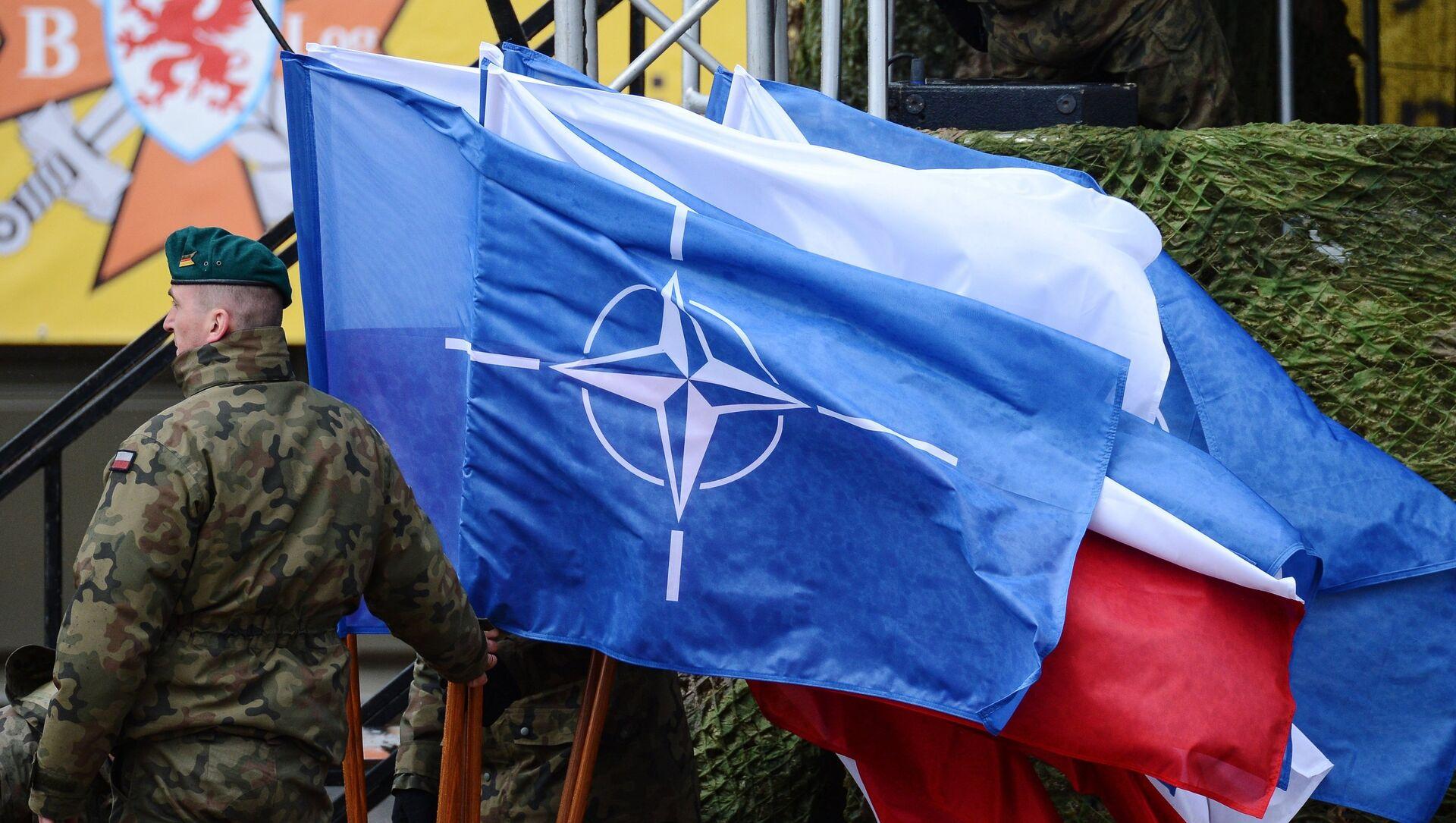 Застава НАТО-а - Sputnik Србија, 1920, 23.03.2021