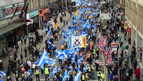 Marš za nezavisnost Škotske - Sputnik Srbija