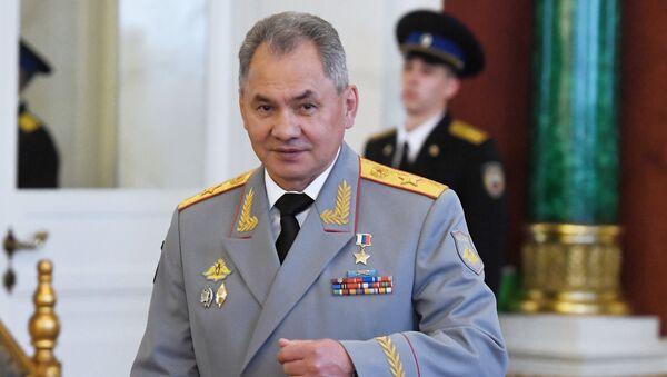 Сергеј Шојгу на инаугурацији председника РФ Владимира Путина. - Sputnik Србија