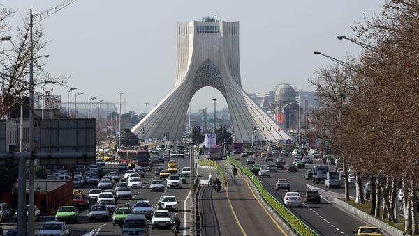 Поглед на Техеран, престоницу Ирана - Sputnik Србија