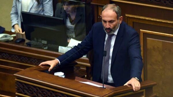 Novoizabrani premijer Jermenije Nikol Pašinjan - Sputnik Srbija