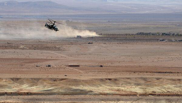 Helikopter Ka-52 Aligator  u Siriji - Sputnik Srbija