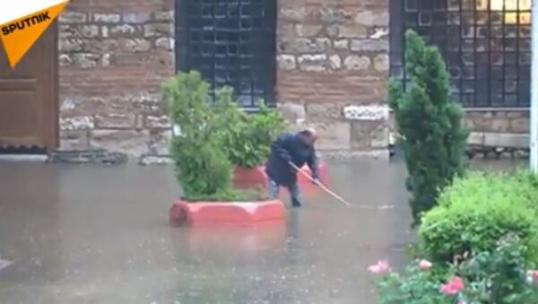 Незапамћена поплава у Солуну - Sputnik Србија