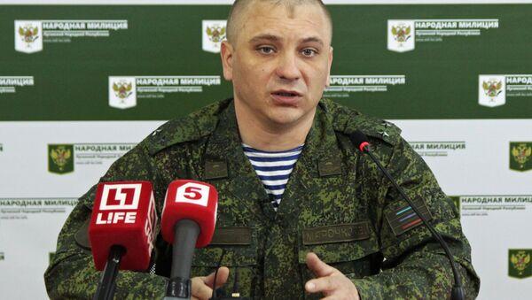 Представник Народне милиције ЛНР Андреј Марочко - Sputnik Србија