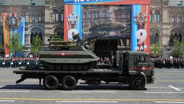 Роботизовани систем Уран-9 на Паради победе у Москви - Sputnik Србија