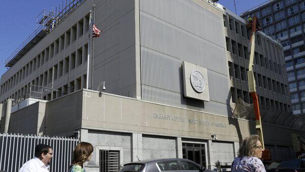 Зграда конзулата САД у Јерусалиму - Sputnik Србија