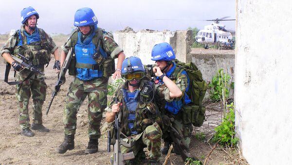 Propadnici mirovne misije UN - Sputnik Srbija