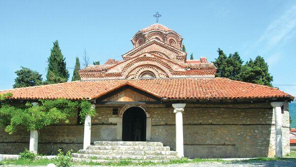 Crkva svete Bogorodice Pervilepte u Ohridu - Sputnik Srbija