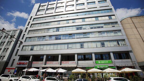 Zgrada u kojoj se nalazi redakcija RIA Novosti Ukrajina u Kijevu - Sputnik Srbija