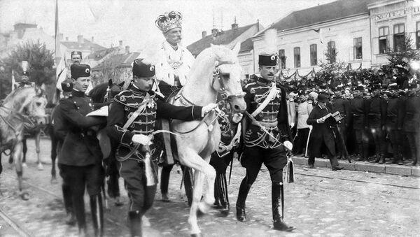 Крунисање краља Петра I Карађорђевића 21. септембра 1904. - Sputnik Србија
