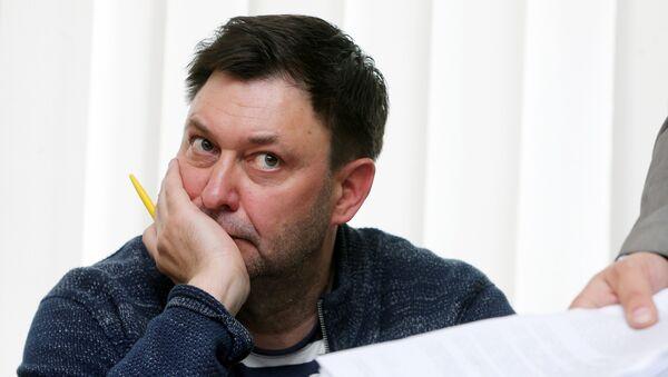 Novinar Kiril Višinski na saslušanju pred sudom u Hersonu - Sputnik Srbija