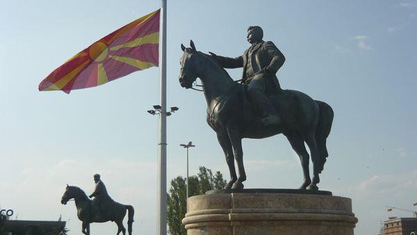 Споменик Гоце Делчева у Скопљу, Македонија - Sputnik Србија