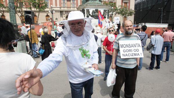 Protest protiv GMO u Beogradu - Sputnik Srbija