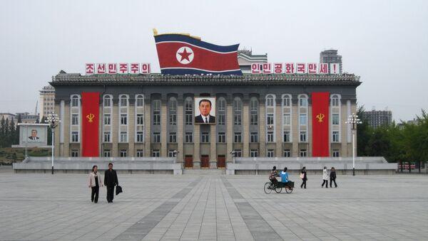 Centralni trg Kim Il Sunga u Pjongjangu - Sputnik Srbija