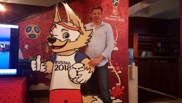 Nekadašnji košarkaš, danas ministar sporta i omladine Nižnjenovgorodske oblasti Sergej Panov - Sputnik Srbija