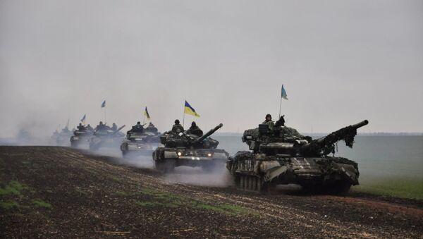 Тенкови украјинских оружаних снага - Sputnik Србија