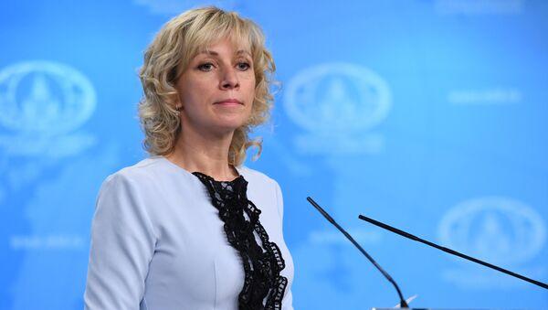 Portparol Ministarstva spoljnih poslova Rusije Marija Zaharova - Sputnik Srbija