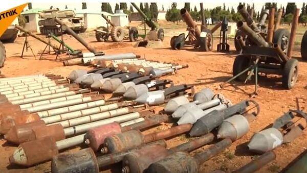 У складиштима терориста у Сирији пронађено оружје из НАТО земаља - Sputnik Србија
