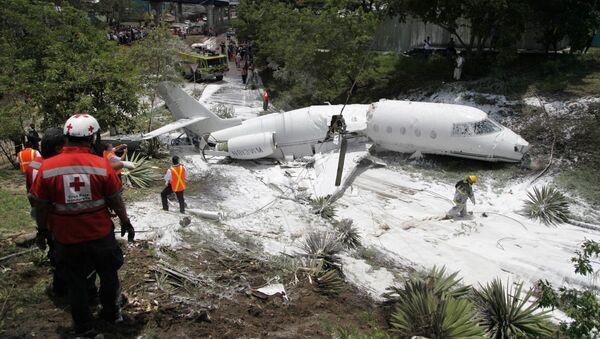 Avion prepolovljen u Hondurasu - Sputnik Srbija
