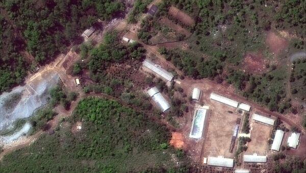 Нуклеарни полигон Пангје-ри у Северној Кореји - Sputnik Србија