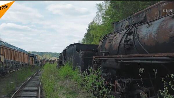 Groblje vozova kod Perma - Sputnik Srbija