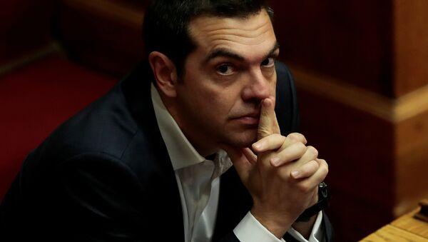 Grčki premijer Aleksis Cipras - Sputnik Srbija