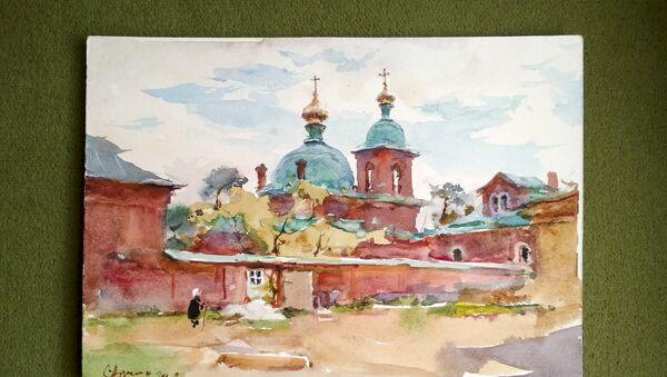 Изложба руског сликара Сергеја Алдушкина - Sputnik Србија