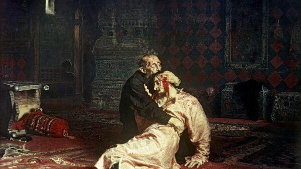 Ira Rjepin - Ivan Grozni i njegov sin - Sputnik Srbija