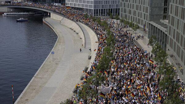 Protest AfD u Berlinu - Sputnik Srbija