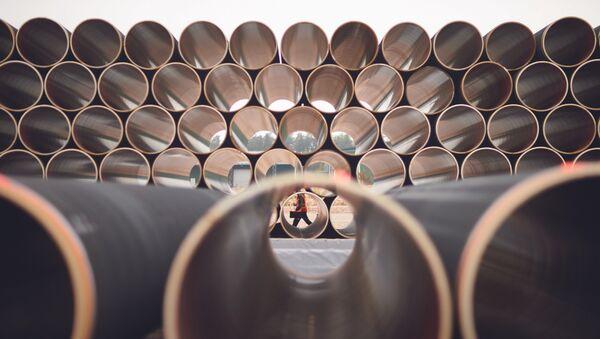 Цеви за гасовод Северни ток 2 - Sputnik Србија