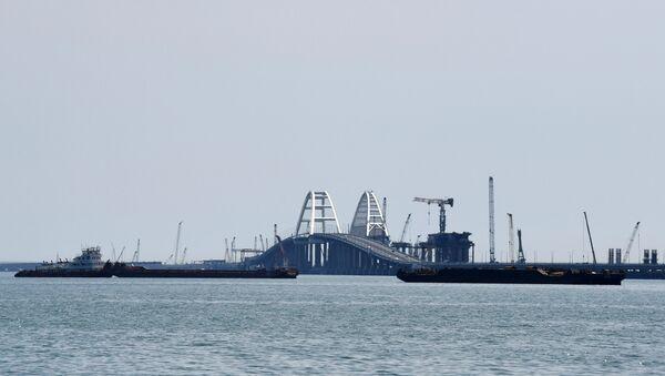 Кримски мост преко Керчког мореуза - Sputnik Србија