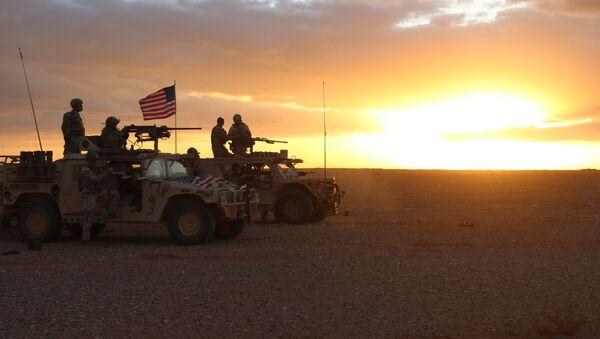 Амерички војници у области Ел Танфа у Сирији - Sputnik Србија