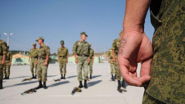 Pripadnici Vazdušno-desantnih snaga Rusije u Južnoj osetiji - Sputnik Srbija