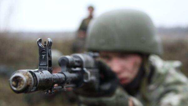Припадник војске ДНР - Sputnik Србија