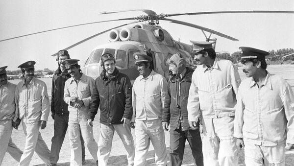 Sovjetski piloti u Avganistanu, arhivska fotografija - Sputnik Srbija