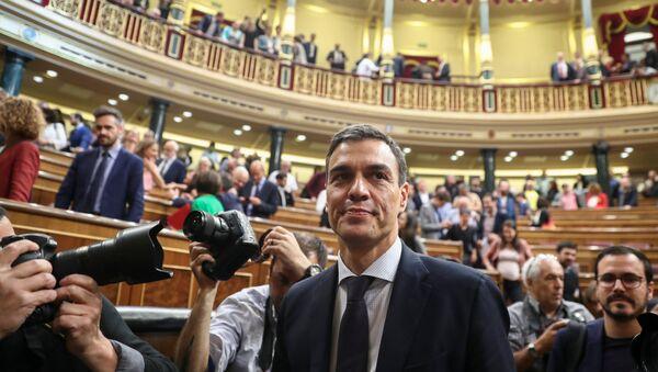 Novi španski premijer Pedro Sančez - Sputnik Srbija