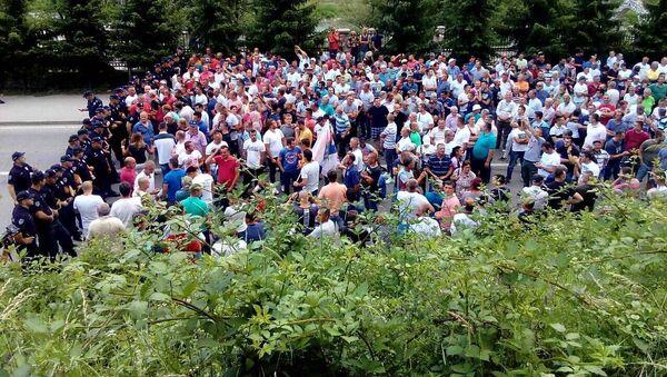 Малинари блокирали пут ка Црној Гори - Sputnik Србија