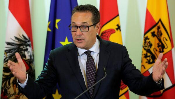 Аустријски вицеканцелар Хајнц Кристијан Штрахе - Sputnik Србија